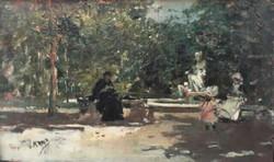 Pincio gardens (Rome)