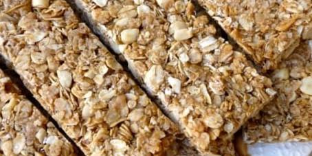 Surprisingly easy homemade granola bars!