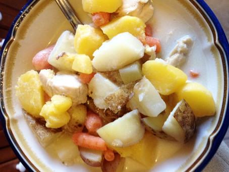 Low-histamine chicken curry