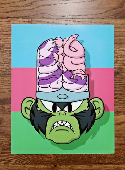 """Evil Ape"" Print"