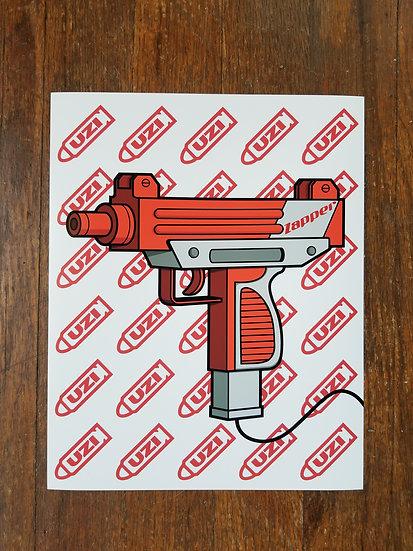 Uzi Nintendo Zapper Fine Art Print
