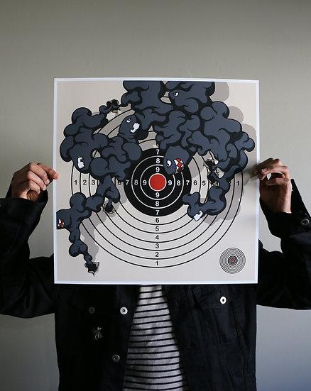 """Target Practice""Print"
