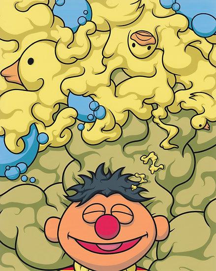 """""""I Dream of Bathtime"""" Print"""