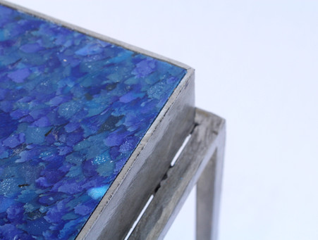 DIOTIS Cobalt Recycled Plastic Table HIPS