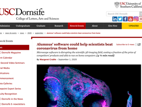 Alumnus' software could help scientists beat coronavirus from home