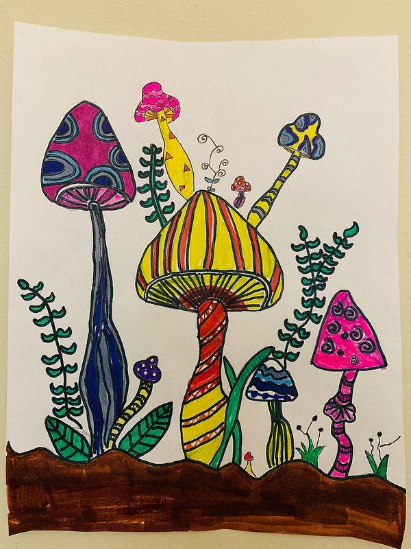 爱蘑菇的小姑娘.JPG