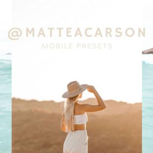 @matteacarson MOBILE
