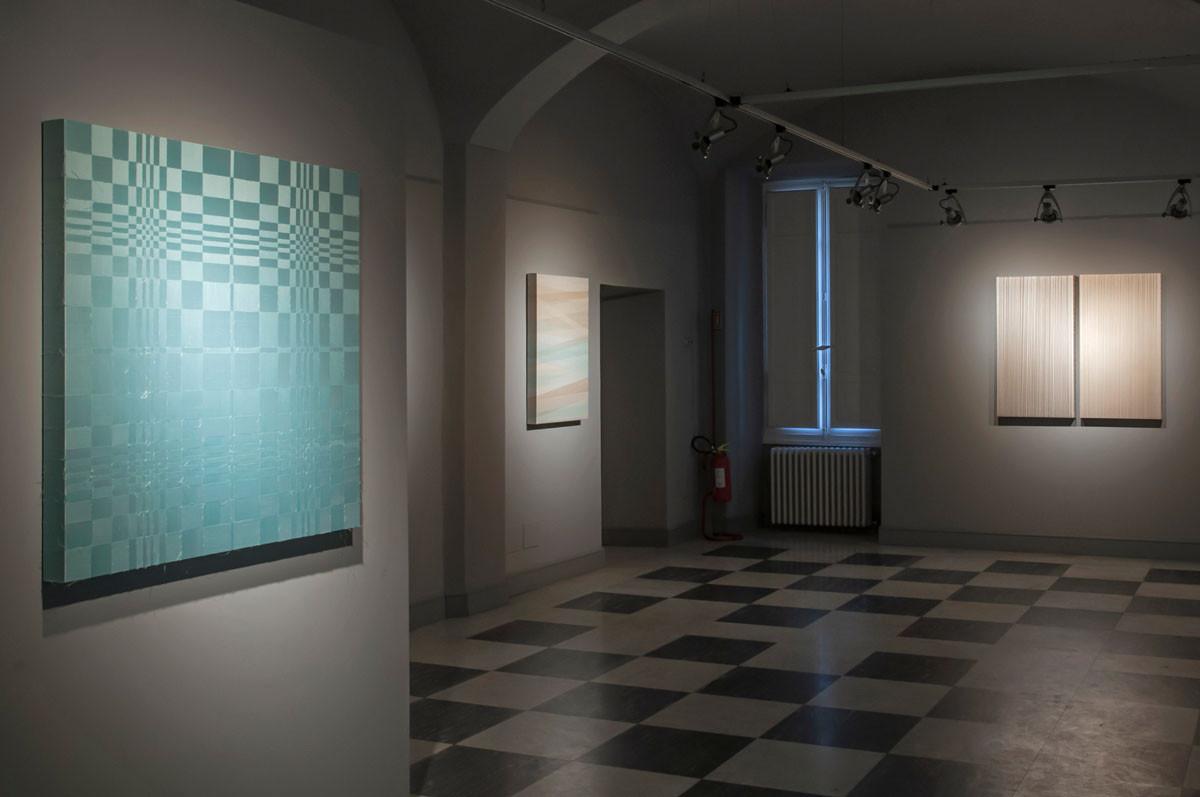 Manuela Toselli - Un filo di luce   installation view