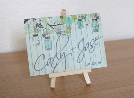 Carly & Jase - The Invitations