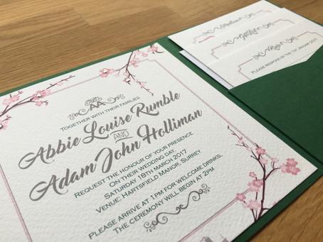 Abbie & Adam - The Invites