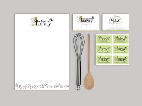 Back Garden Bakery Branding