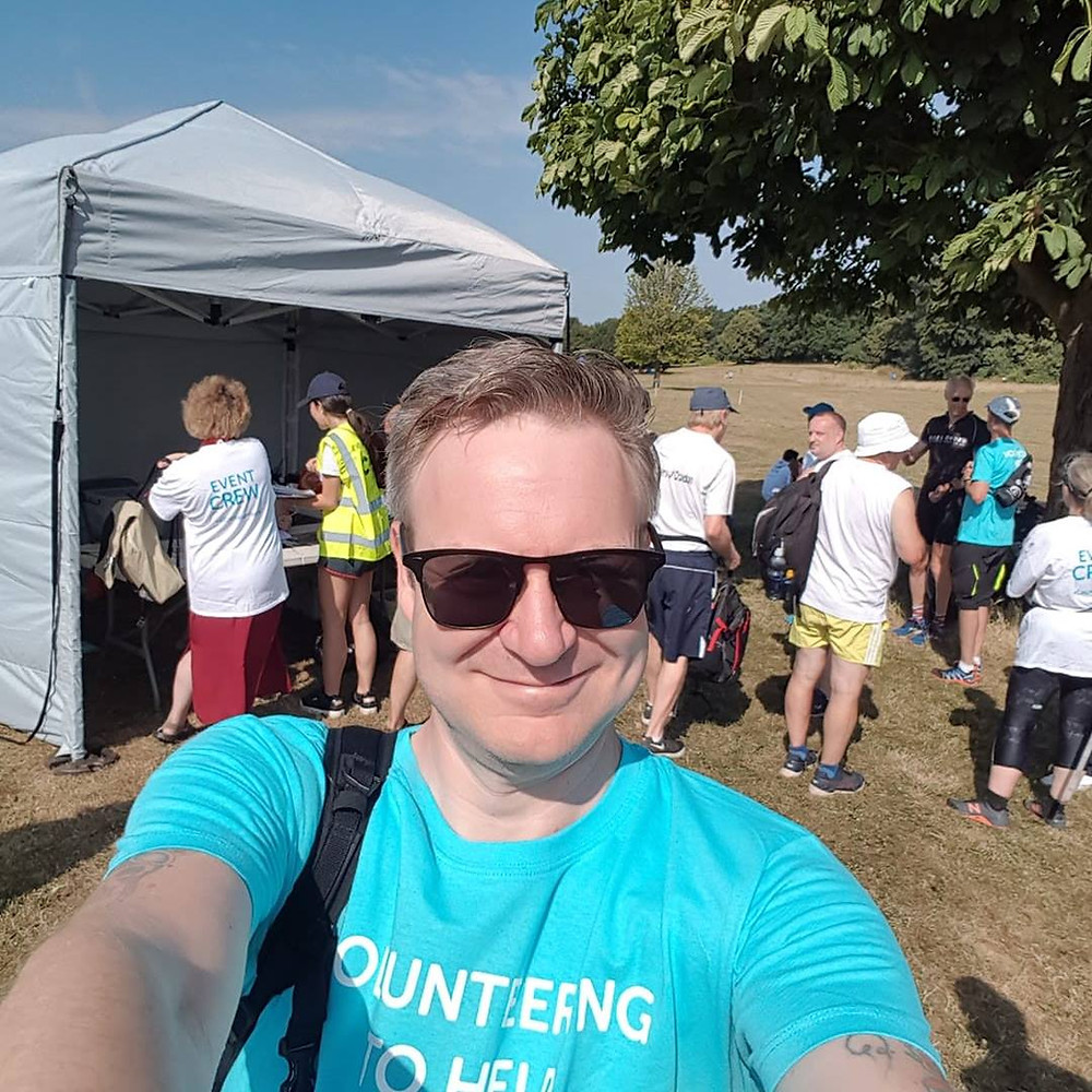 Marshalling at CRUK's Race for Life