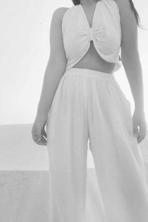 CUSTOM : bralette +  pants THE WHITSUNDAY SET
