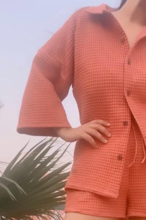 RED INDIAN LOUNGE SET ~ Shorts