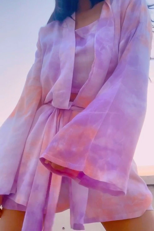 LAVENDER DAWN ROBE SET