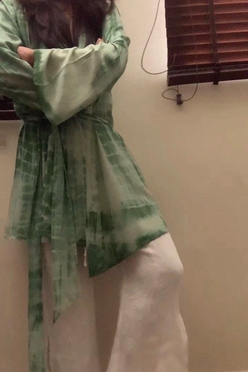 Cacti Robe + Soft Shell pants