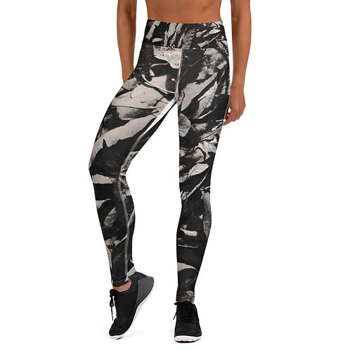 Yoga Leggings Leaves