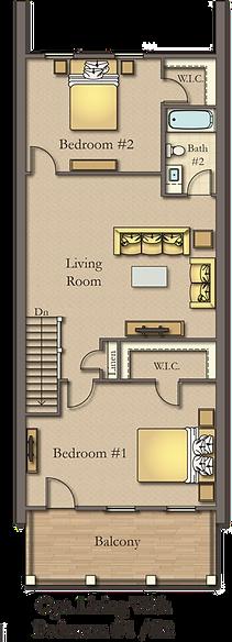 3 Bedroom 2 Bath Courtyard Home