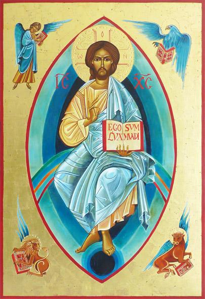 Christ aux 4 évangélistes
