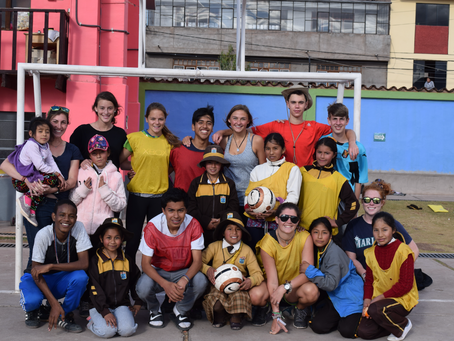 Soccer Beyond Borders: A Woza Participant's Reflection of Time in Peru
