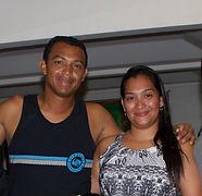 Roberto and Marcella Wong. Puntarenas FC