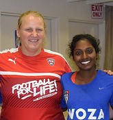 Anna Nyman. Founder of Football for Life.