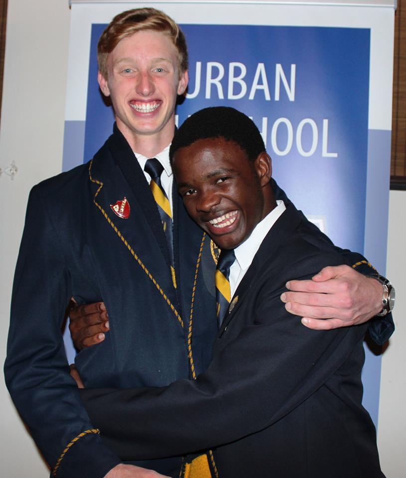 Mvumeleni, head boy at Durban High School in 2016