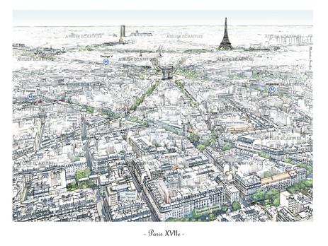 PARIS XVIIe arrondissement