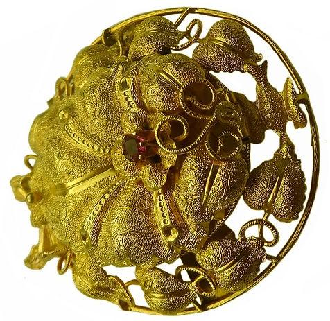 Austalian Jewellery Marks -Goldrus brooch