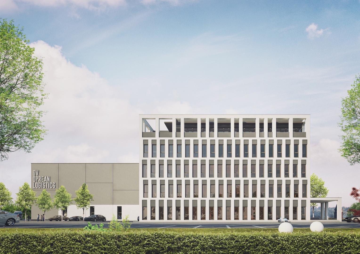 centru logistic si cladire birouri gv op