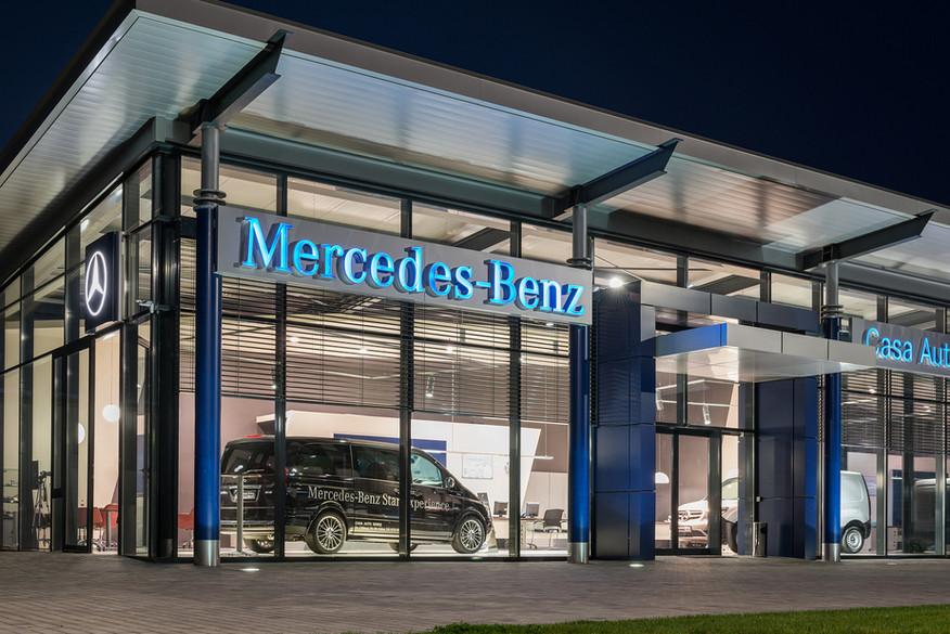 Showroom Mercedes-Benz