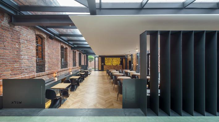 Amenajare interioara restaurant Werk
