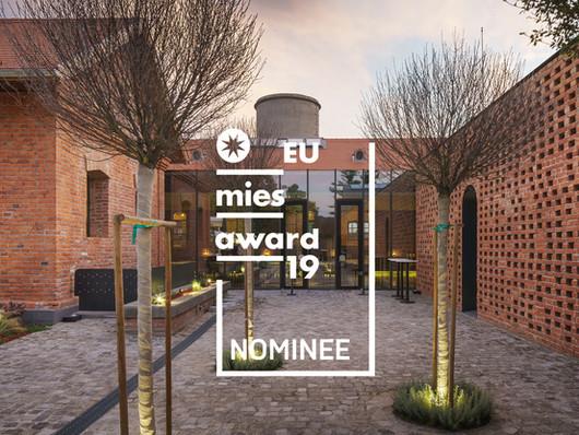 Nominalizare la Premiul Uniunii Europene pentru arhitectura contemporana - Mies van der Rohe 2019
