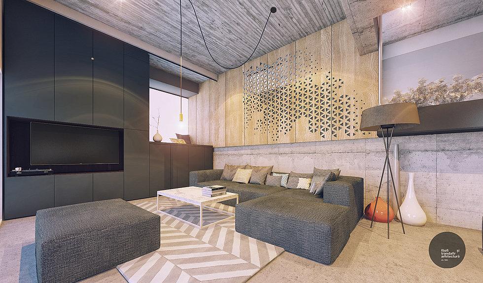 design interior living A house Cluj-Napoca