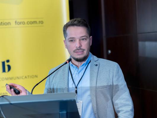 Catalin Trandafir, speaker la FORO - International Forum for Reputation in Hospitality