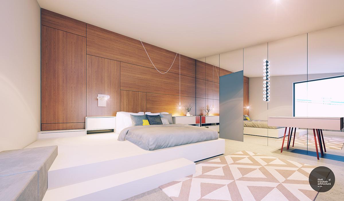 design interior dormitor Cluj Casa A