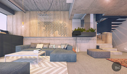 interior design living A house cluj