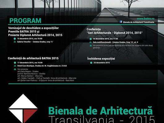 Conferinta de arhitectura Batra Oradea