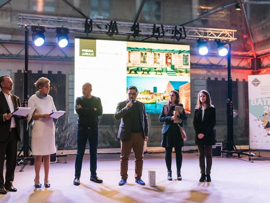 Premiul 1 la Bienala de Arhitectura Transilvania 2017 cu proiectul Werk
