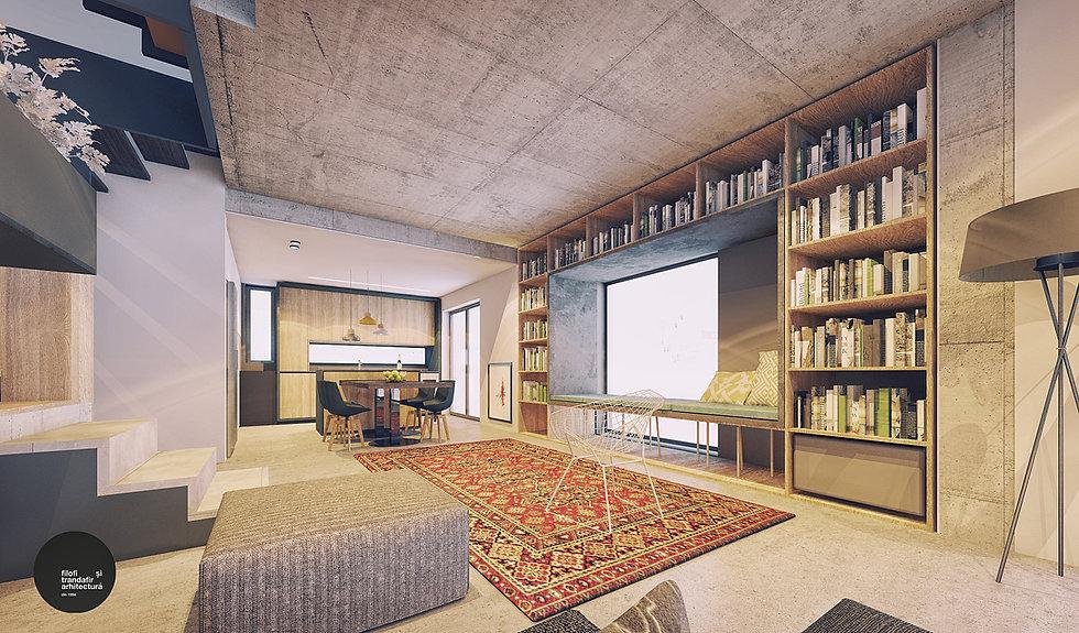 design interior living Casa A Cluj