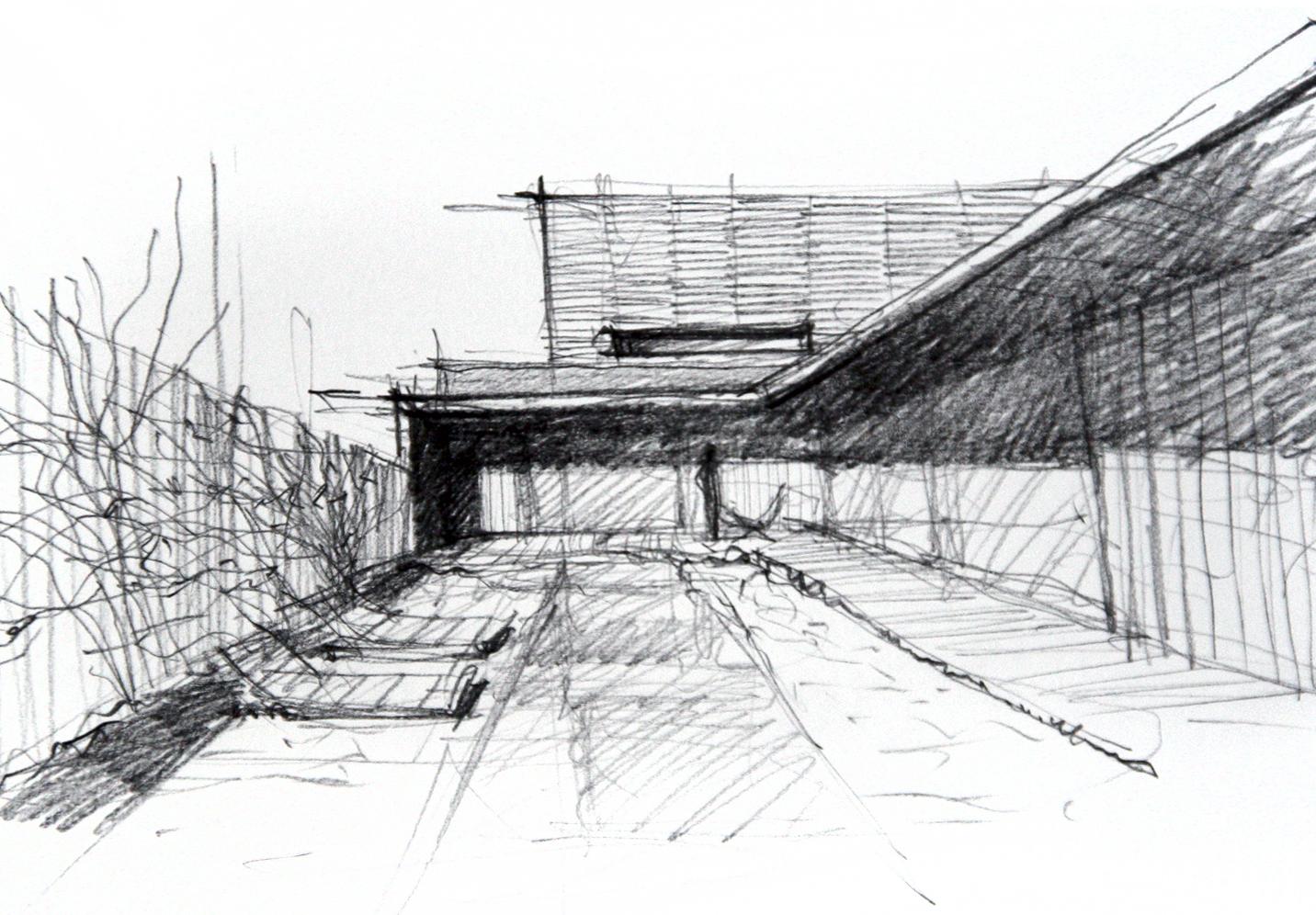 Casa Frantu - schita