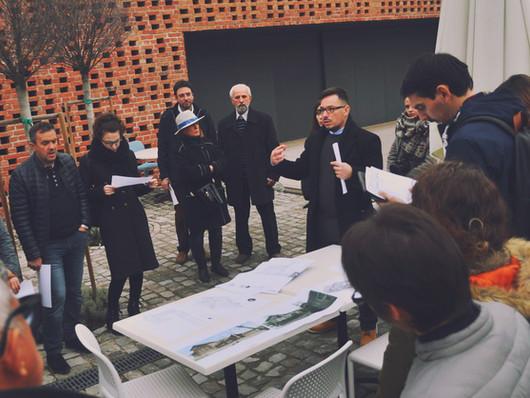 Vizita la doua proiecte cu Centrul Teritorial de Competenta