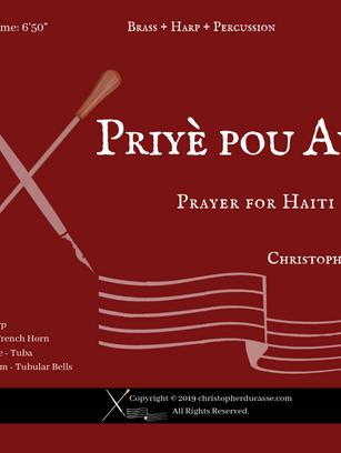 Priyè pou Ayiti