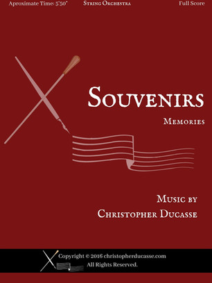 Souvenirs (String Orchestra)