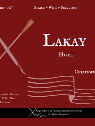 Lakay (Wind - String - Perc)
