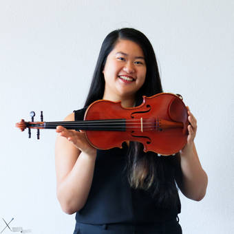 Violinist Photoshoot