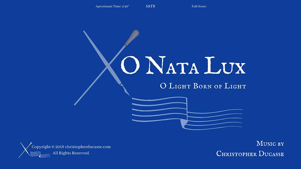 O Nata Lux - Computer
