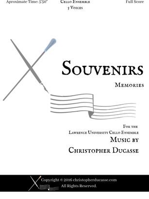 Souvenirs (Cello Ensemble)
