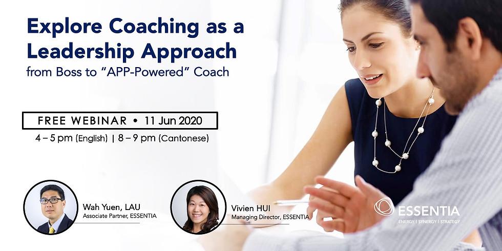 FREE Webinar | Explore Coaching as a Leadership Approach