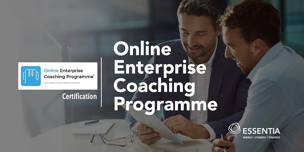 Online Enterprise Coaching Programme (Certification - Aug 2020) Cantonese Version